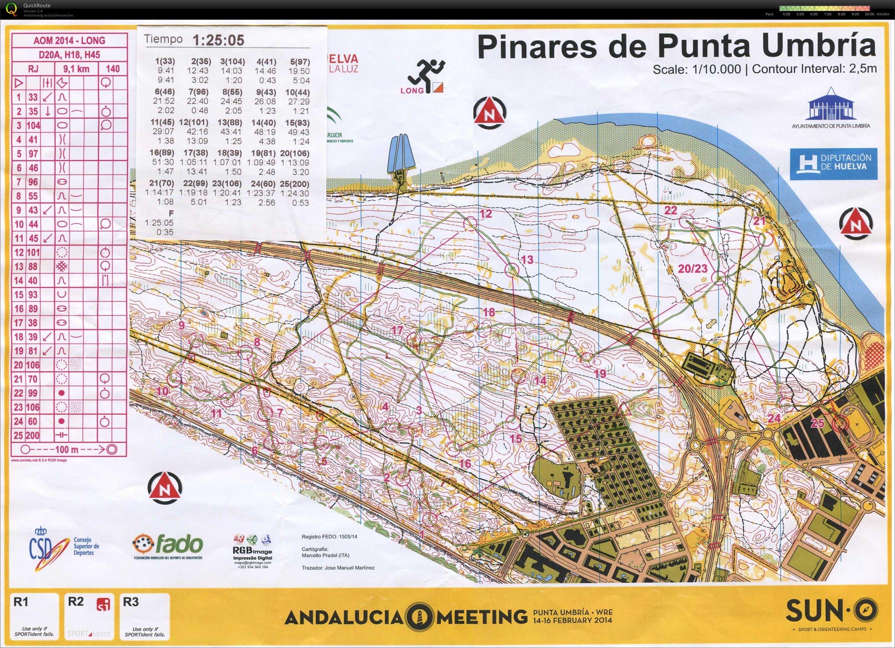 punta umbria mapa Mi archivo digital de mapas de orientación :: 2ª LEO   Distancia  punta umbria mapa